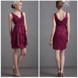 Anthropologie Quillaree Vavacity Linen Dress